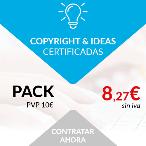 copyright ideas certificadas