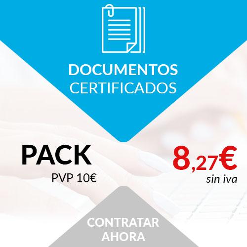 documentos certificados