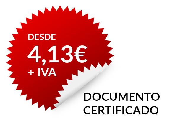 Documentos certificados actas certificadas proyectos for Renovar demanda de empleo con certificado digital
