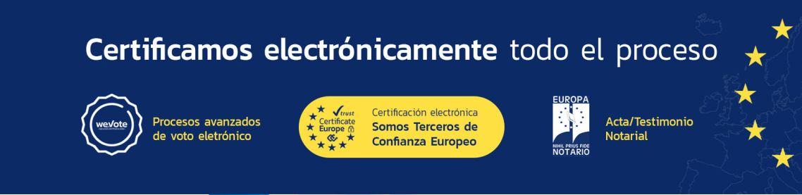 eVoto Certificado