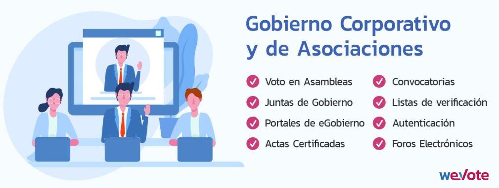 eVoto en Gobierno Corporativo weVote Avisos Certificados