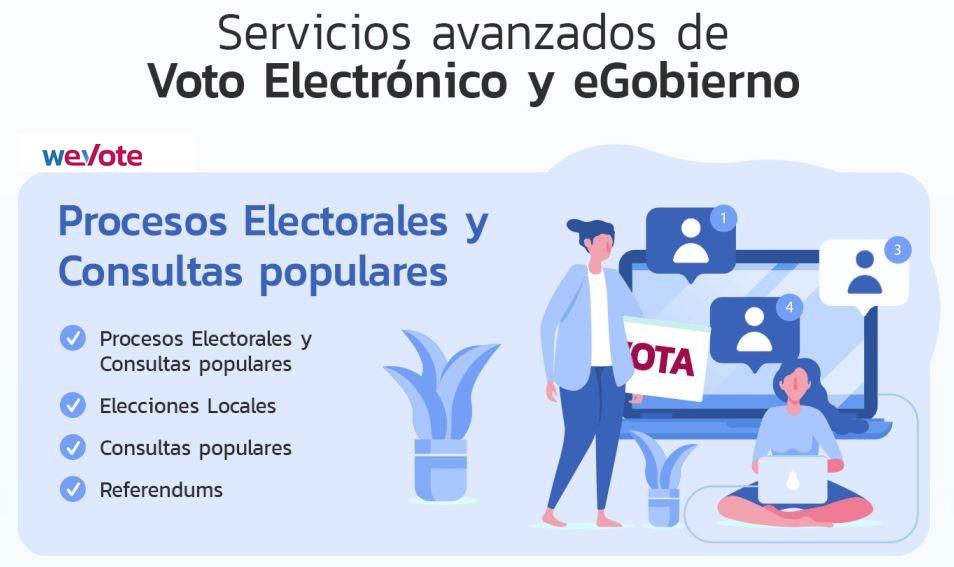 procesos electorales weVote Avisos Certificados